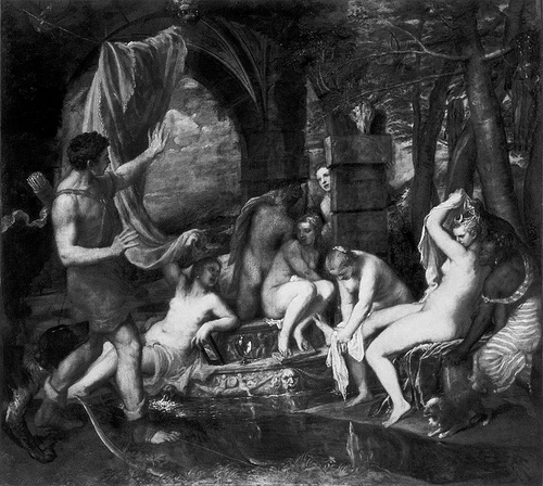 diana-and-actaeon b&w