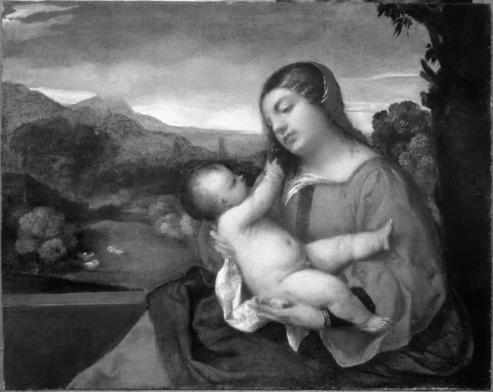 Titian b&w