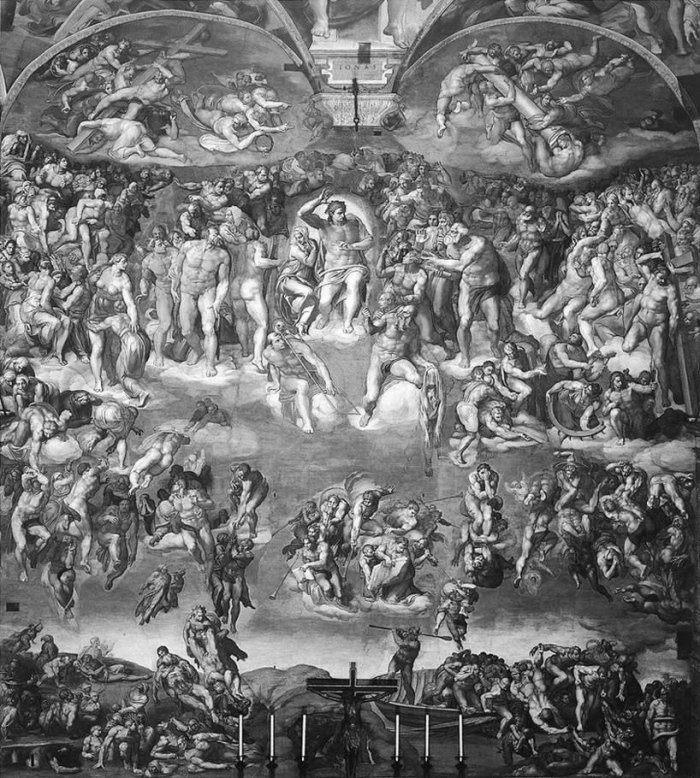 Michelangelo, Last Judgment (1)